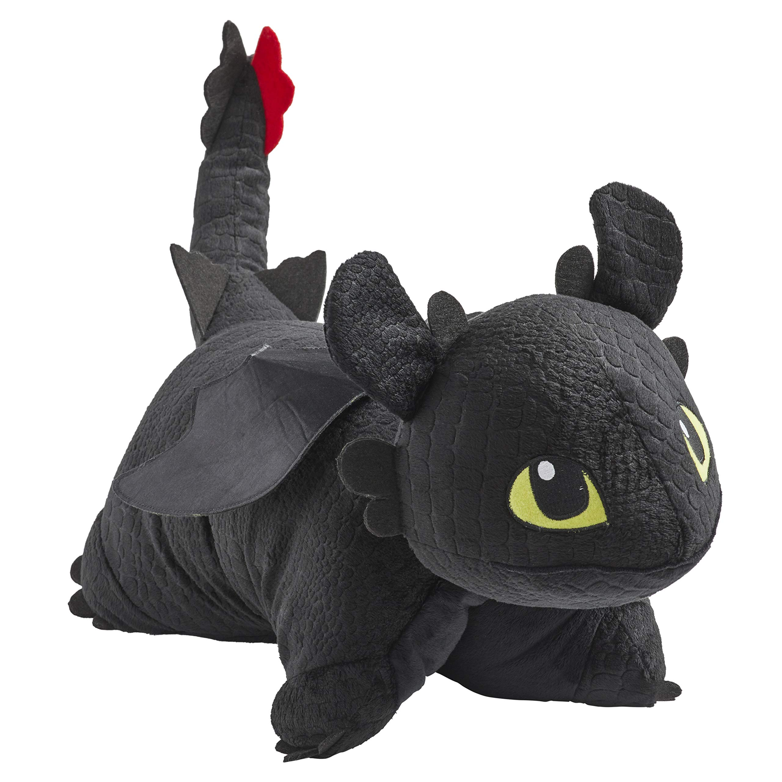Pillow Pets NBCUniversal How to Train Your Dragon Toothless 16'' Stuffed Animal Plush Toy by Pillow Pets