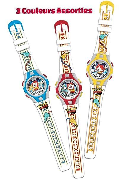 Canal Toys - ct06003 - Electrónica/Reloj - Yo Kai Watch - Reloj LCD Luminosa, Surtido: Colores aleatorios: Amazon.es: Juguetes y juegos