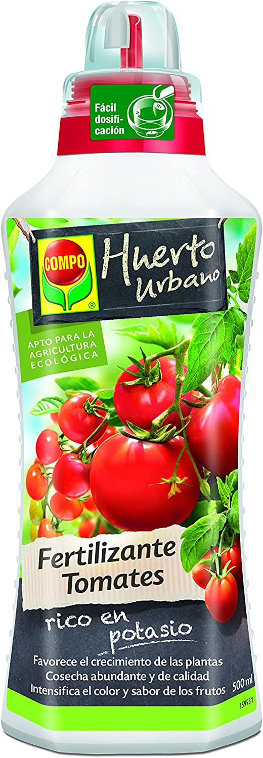 Compo 2141302011 - Fertilizante tomates, 500 ml: Amazon.es: Jardín