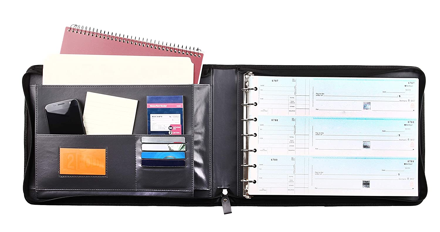 Business & Industrial Business Check 7 Ring Binder For 3-Up Checks ...