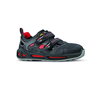 U-Power RC30316-40 RC30316-40 Safety Shoes Range Red Model Cody Carpet S1P SRC ESD Size 40: Home Improvement