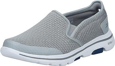Autorización incluir Emigrar  Skechers Men's GO Walk 5-APPRIZE Shoe, Light Gray/Blue, 7 Regular US:  Amazon.ca: Shoes & Handbags