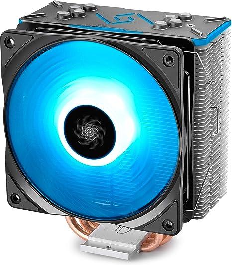 DEEP COOL Gammaxx GT BK, Disipador de CPU,1 * 120mm RGB Ventilador ...