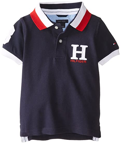 92c27ba19a1e9 Amazon.com  Tommy Hilfiger Big Boys  Short Sleeve Matt Polo
