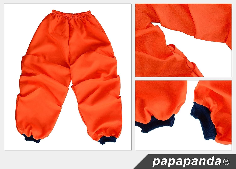 Papapanda Bambini Costume per Son Goku Vestito Abbigliamento da Allenamento