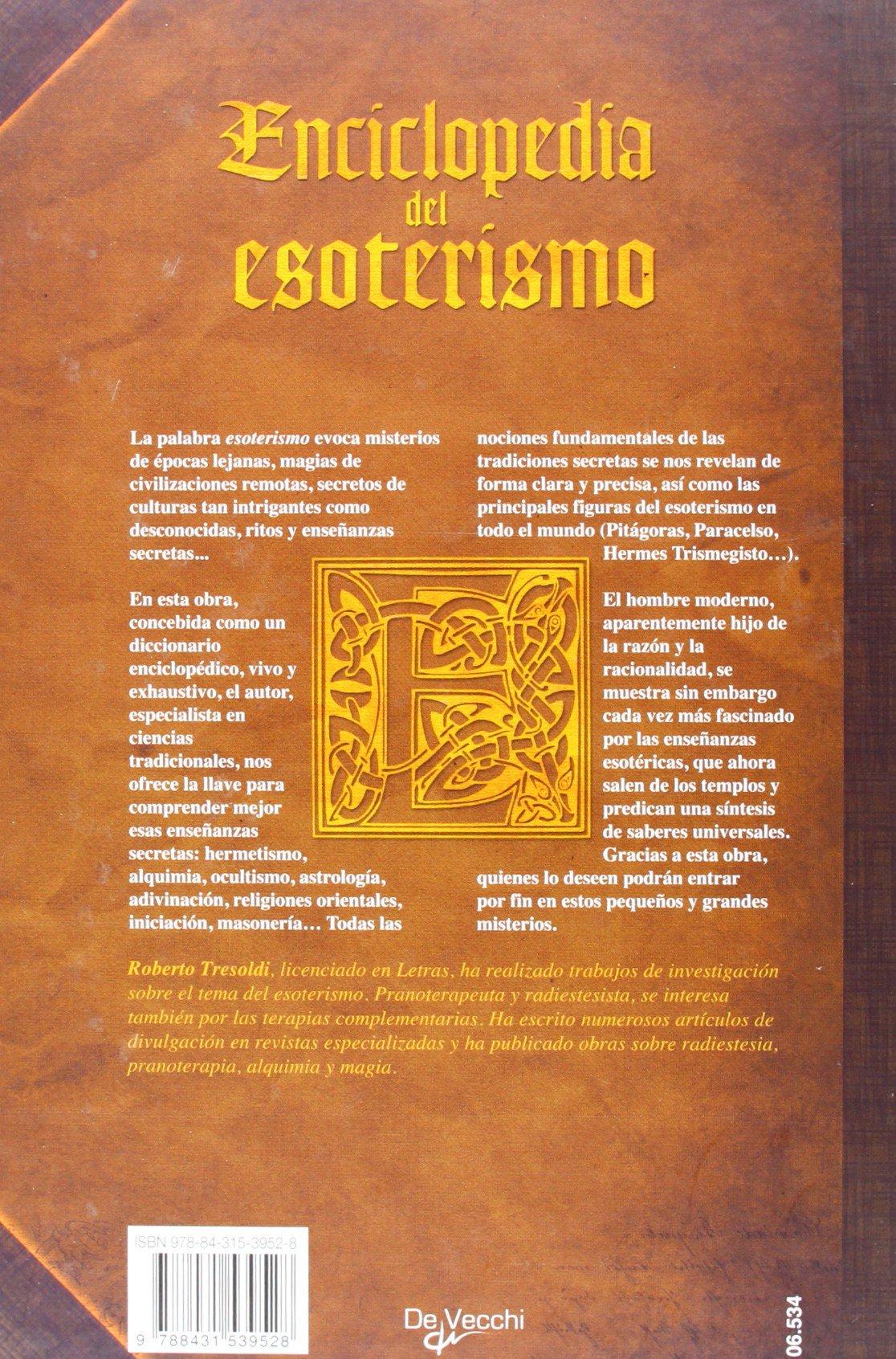 Enciclopedia del esoterismo (Spanish Edition): Roberto