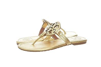 f0712925328 Tory Burch Miller Flip Flop Leather Thong Sandal Logo (8