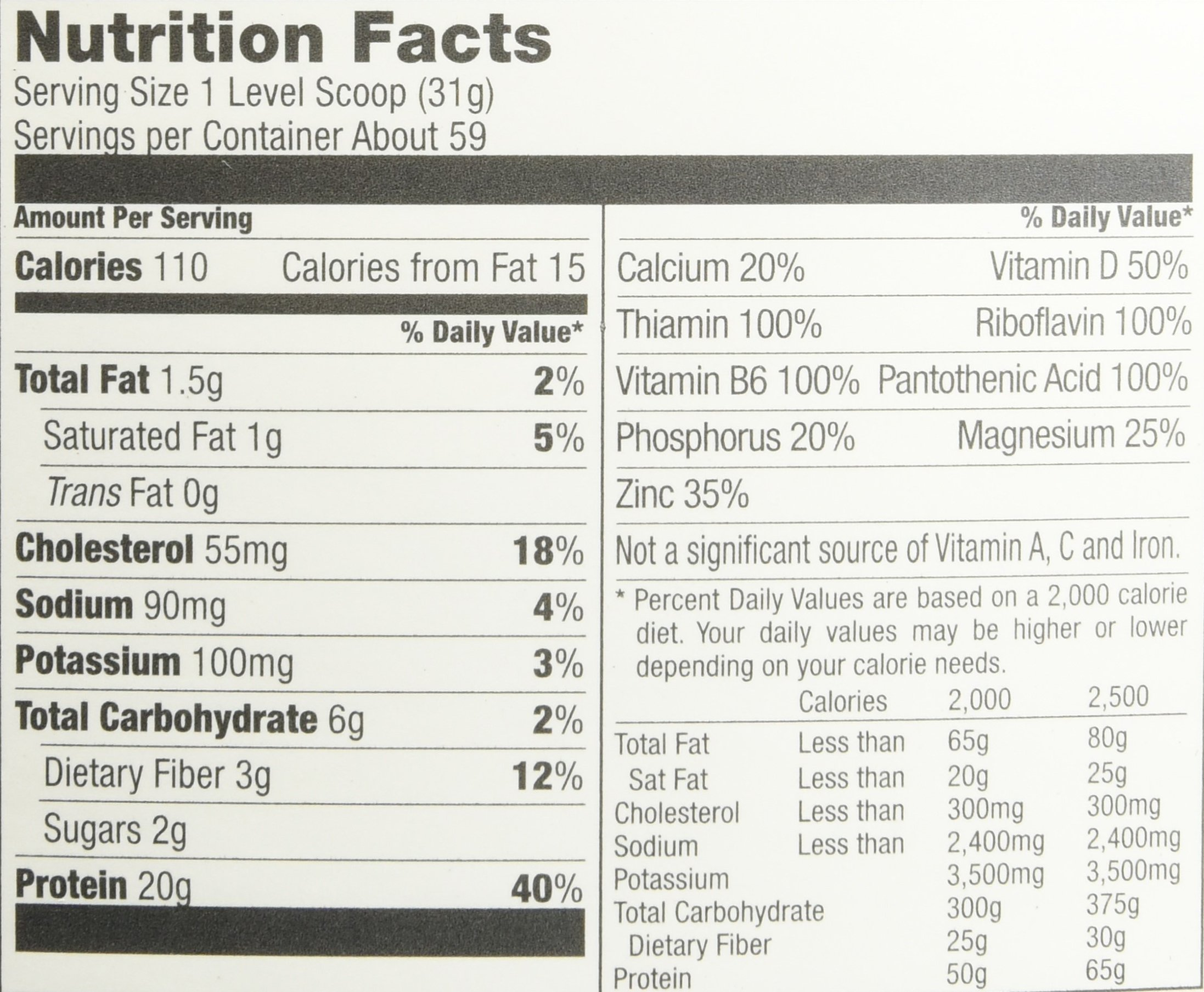 Designer Whey Premium Natural 100% Whey Protein, French Vanilla, 4 Pound by Designer Whey (Image #1)