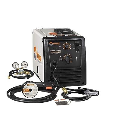 Handler 210Mvp Mig Wire Welder | Hobart Handler 210 Mvp Mig Welder Arc Welding Equipment Amazon Com