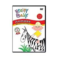 BRAINY BABY: ANIMALES - ANIMALS (Spanish) [Import]
