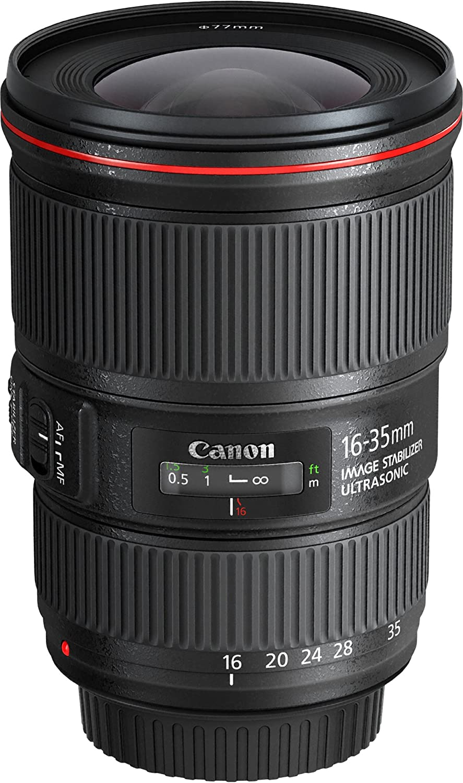 Canon EF 16-35MM F /4 L is USM(Japan Import-No Warranty)