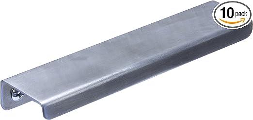 "25x Rok 3/"" Center Brushed Nickel Kitchen Cabinet Drawer Bar Handle Pull 4-9//16/"""