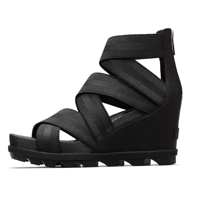b40172b5d80 Amazon.com | SOREL Womens Joanie II Strap Wedge Sandal | Flats