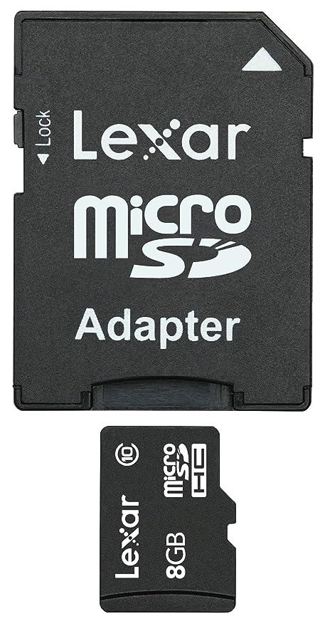 Lexar - Tarjeta de Memoria MicroSDHC de 8 GB