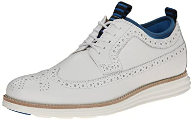 Cole Haan Men's Lunargrand Wing Neop Oxford, Optic White, ...