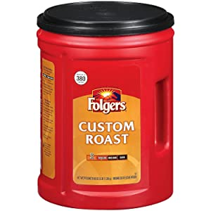 Folgers Custom Roast Ground Coffee - 48oz - CASE PACK OF 4