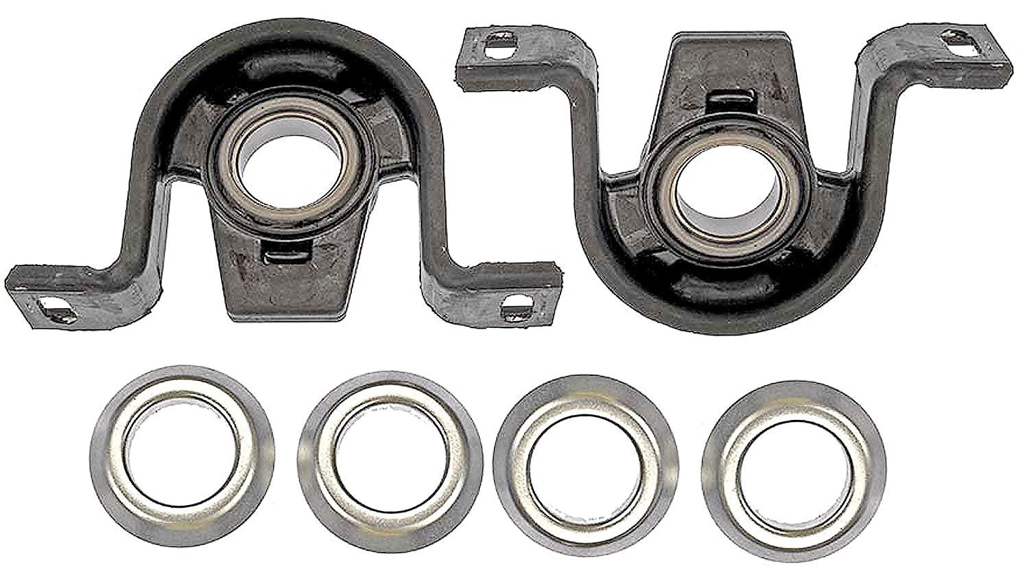 APDTY 045413x2 Driveshaft Center Support Bearing Pair Fits 03-06 Sprinter Van