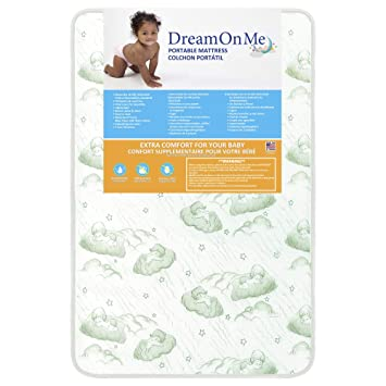 Dream On Me Baby Suite Selection 100 Inner Spring Mattress with Square Corner