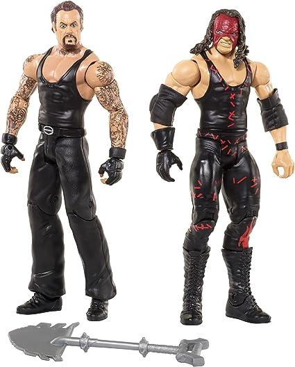 Disney WWE Kane & Undertaker Figura de acción (2u.) - Batalla Packs 43: Amazon.es: Juguetes y juegos