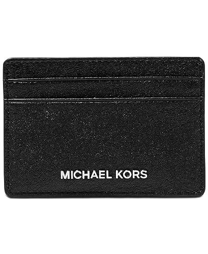 Michael michael kors money pieces card holder black one size at michael michael kors money pieces card holder black one size colourmoves