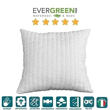 Evergreenweb - Imbottitura per Cuscini Arredo in Memory Foam ...