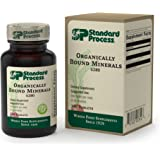 Standard Process - Organically Bound Minerals - Promotes Healthy Connective Tissues and Cellular Energy Production - 180 Tablets