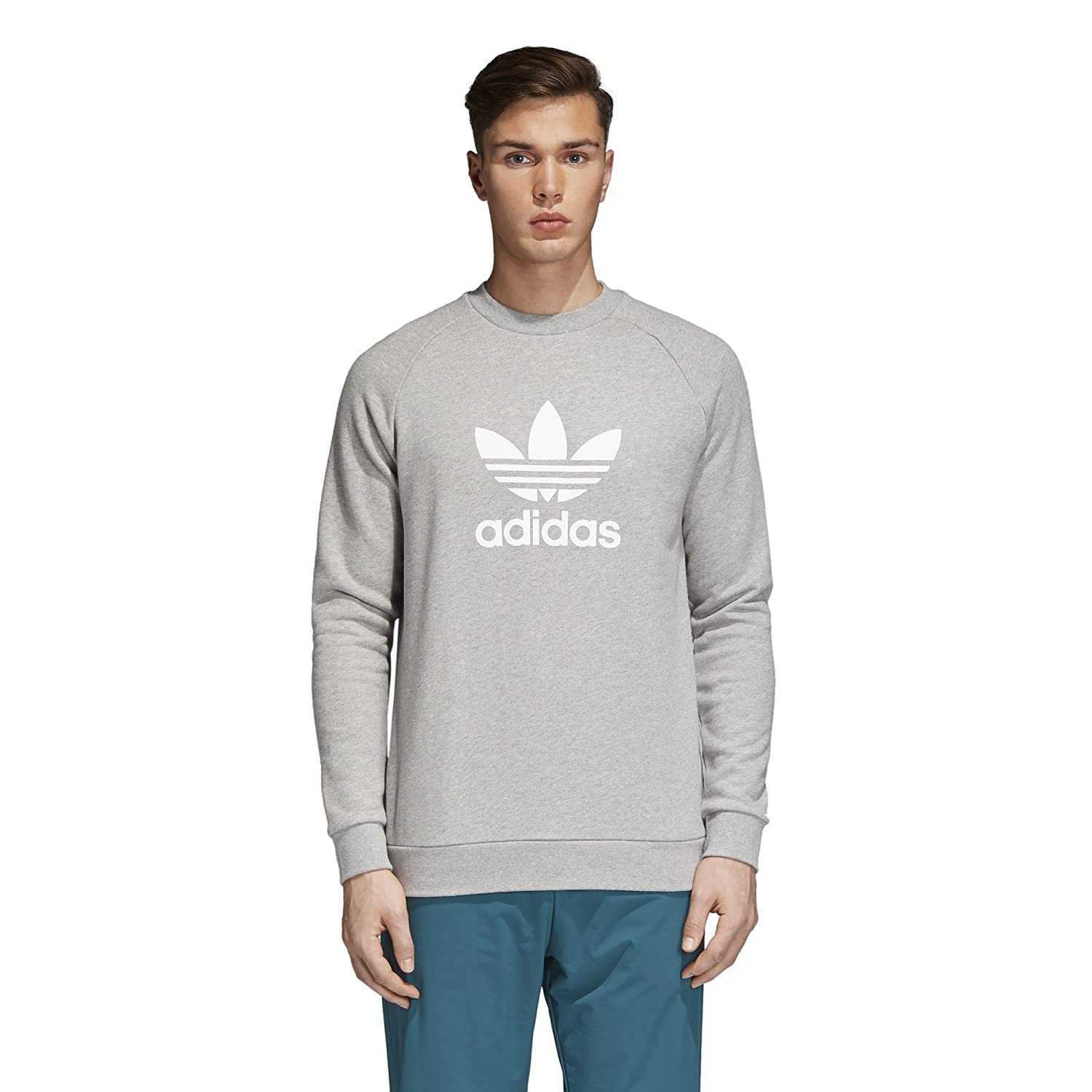 adidas Originals Mens Trefoil Crew