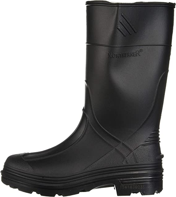 Black Honeywell Safety Products USA 76002-BLK-010 76002 Ranger Splash Series Youths Rain Boots