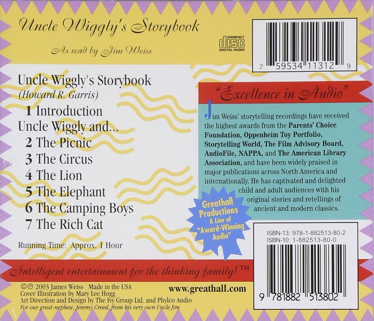 Jim Weiss - Uncle Wiggly\'s Storybook - Amazon.com Music