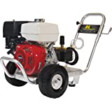 BE Pressure PE-4013HWPACOMZ Gas Powered Pressure Washer, GX390, 4000PSI, 4 GPM