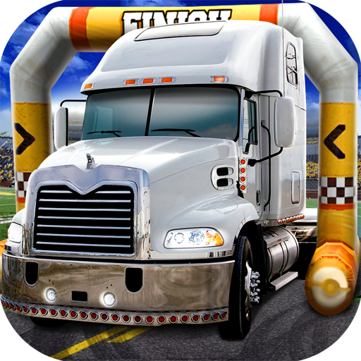3D Trucker Parking Simulator Game - Real Fun Truck Driving Test Run Car Park Sim Addictive Racing Games Free (Driver Boat)