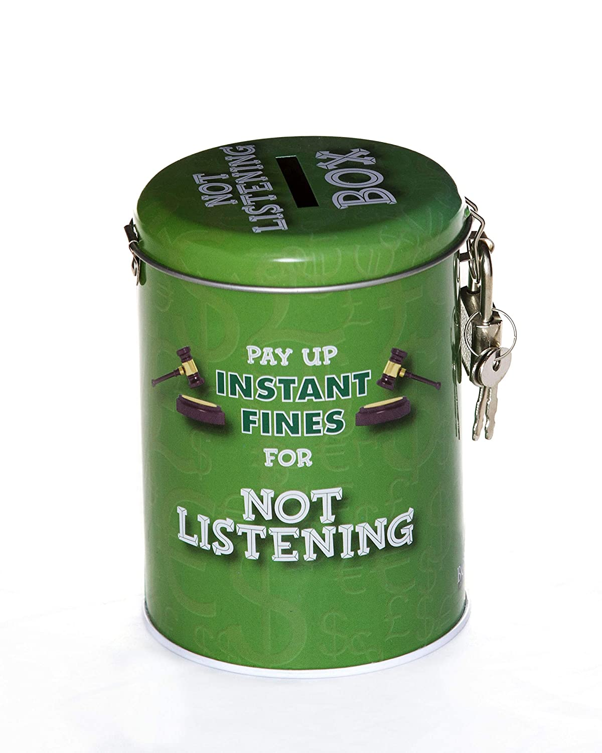 Boxer Gifts BB6016 Instant Fines Tin - Not Listening