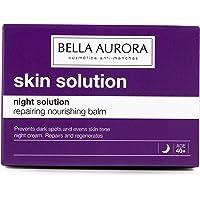 Bella Aurora Crema de Noche Nutritiva Anti-Fatiga Mujer 40+ Años, Anti-Arrugas, Anti-Edad, Anti-Manchas, Tratamiento…
