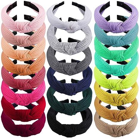 Sova Knotted Bow Head Scarf  Headband Headwrap Top Knot Rockabilly Hair Tie