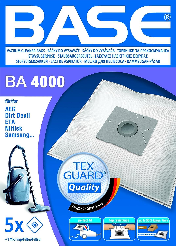 Amazon.com: Base BA4000 - Bolsas para aspiradora: Kitchen ...