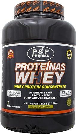 Proteína Concentrada de Suero de Leche de P&F Pharma |WPC ...