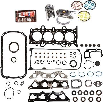Fit 90-01 Acura Integra 1.7L 1.8L Honda Civic 1.6L Main/&Rod Bearings B16A2 B18B1