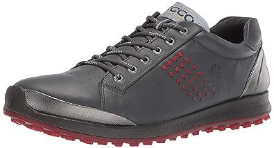 266abe2c6771 ECCO Men s Biom Hybrid 2 Hydromax Golf Shoe Dark Shadow Yak Leather 39 M EU  (