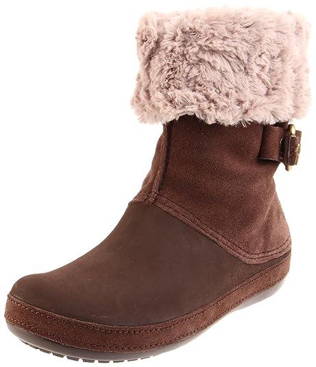 Crocs Berryessa Buckle, Botas de Nieve para Mujer, Marrón, 36 EU: Amazon.es: Zapatos y complementos