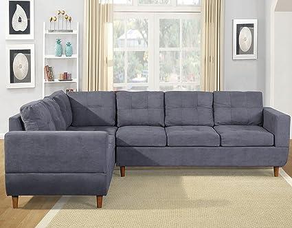 Amazon.com : Haper&Bright Designs Sectional Sofa Set Chaise ...