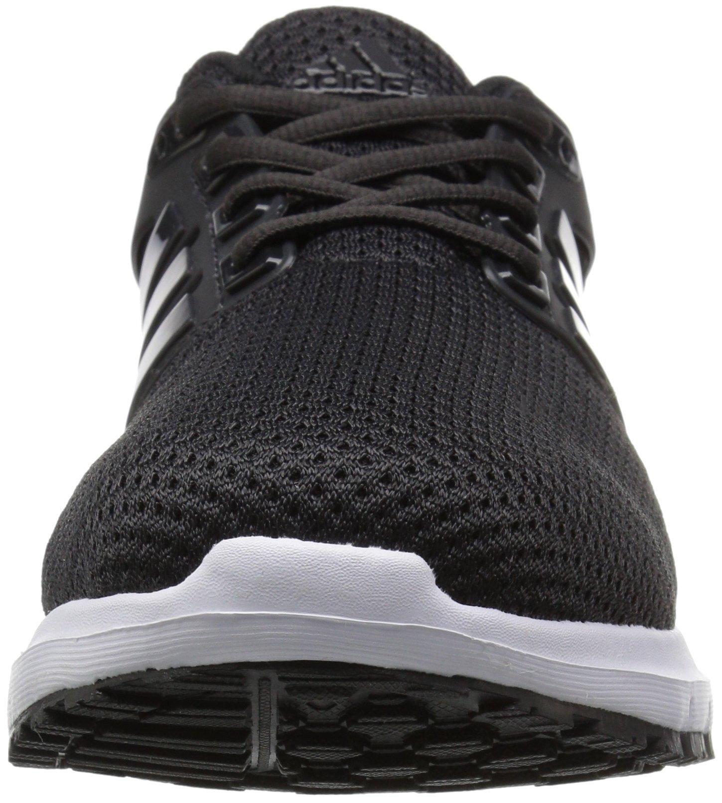 adidas  Men's Energy Cloud Wide m Running Shoe, BLACK/UTILITY BLACK/WHITE, 10.5 2E US by adidas (Image #4)