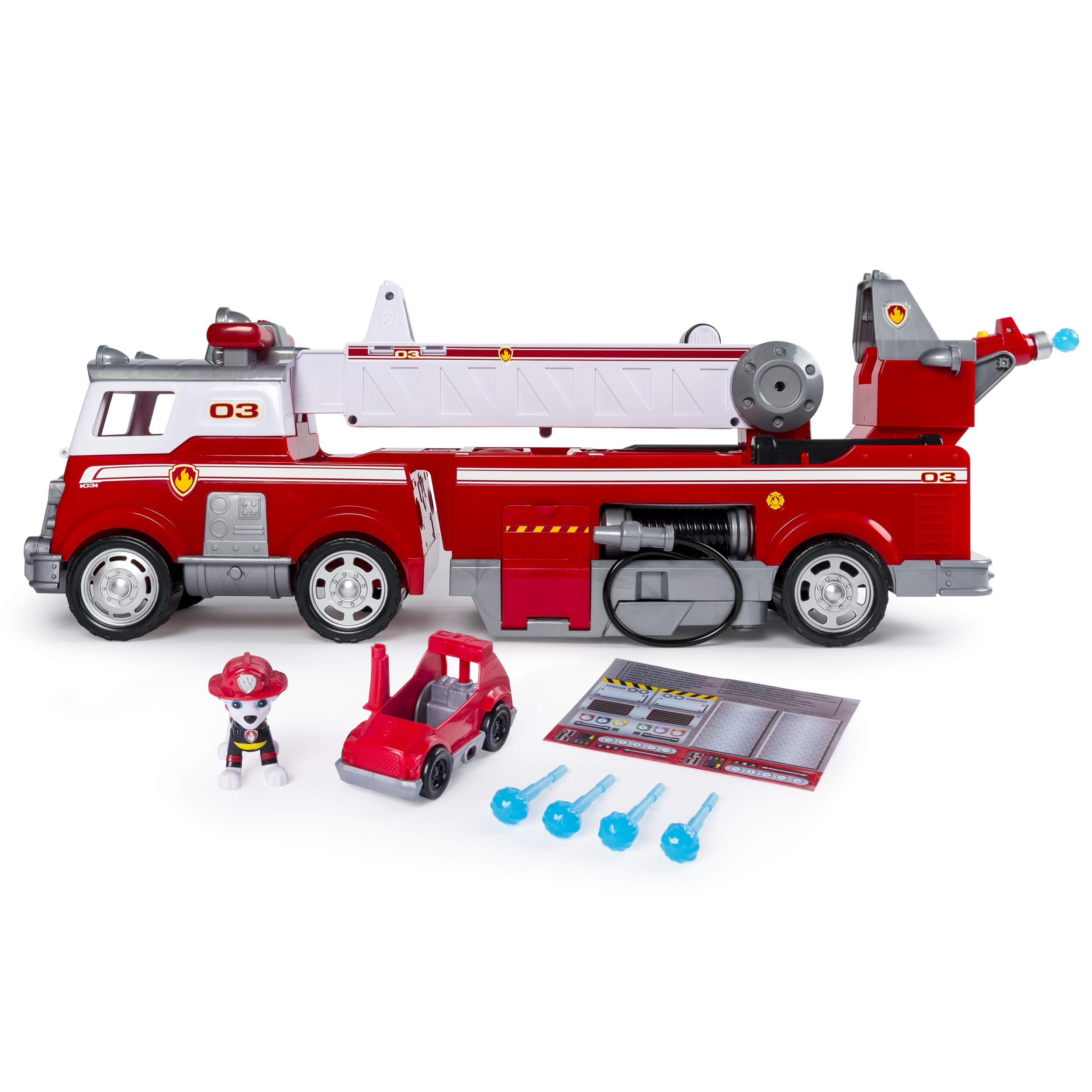PAW Patrol - Ultimate Rescue Fire Truck with Extendable 2 ft. Tall Ladder, for Ages 3 and Up by Paw Patrol (Image #1)