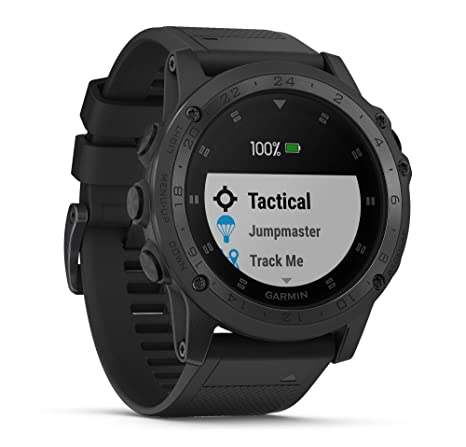 Amazon.com: Garmin tactix Charlie (Black/Titanium) Tactical ...