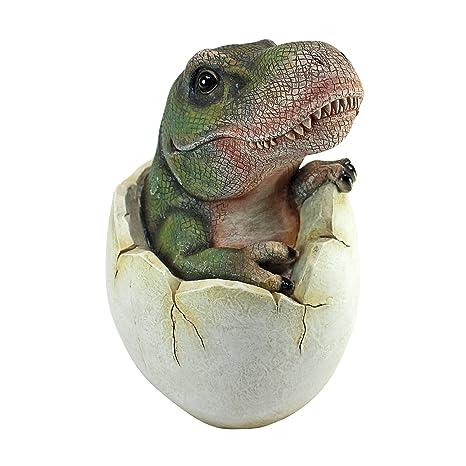 dino egg  : Design Toscano Baby Tyrannosaurus Rex Dino Egg Statue ...