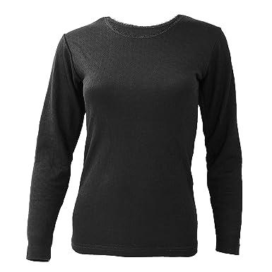 0a02db71c Floso® Ladies/Womens Thermal Underwear Long Sleeve T-Shirt/Top (Standard  Range): Amazon.co.uk: Clothing
