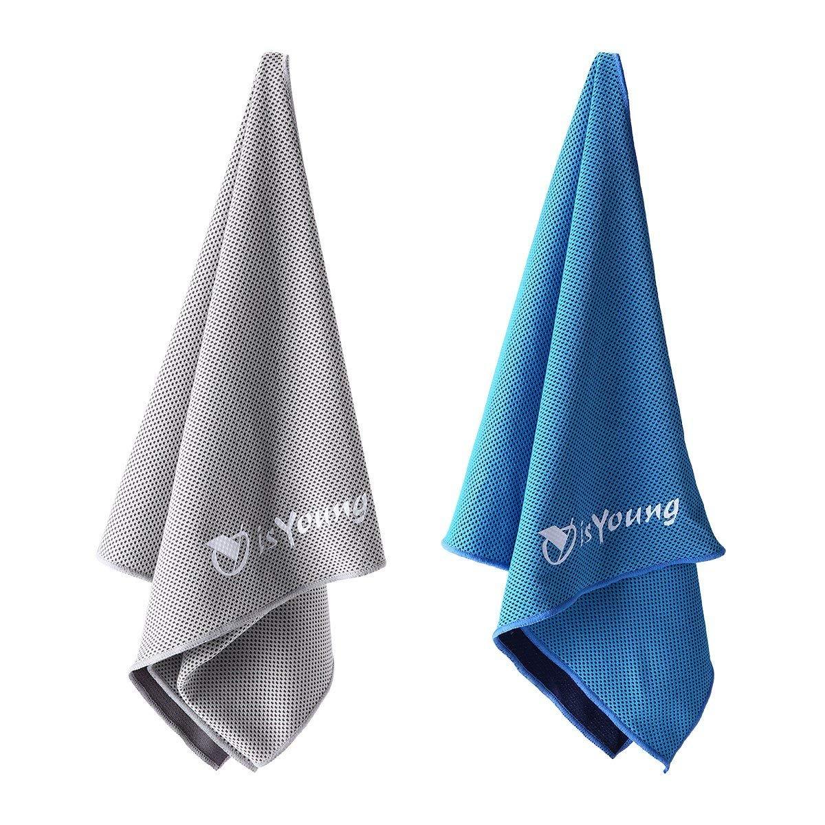 Amazon.com: isYoung, toalla suave de enfriamiento ...