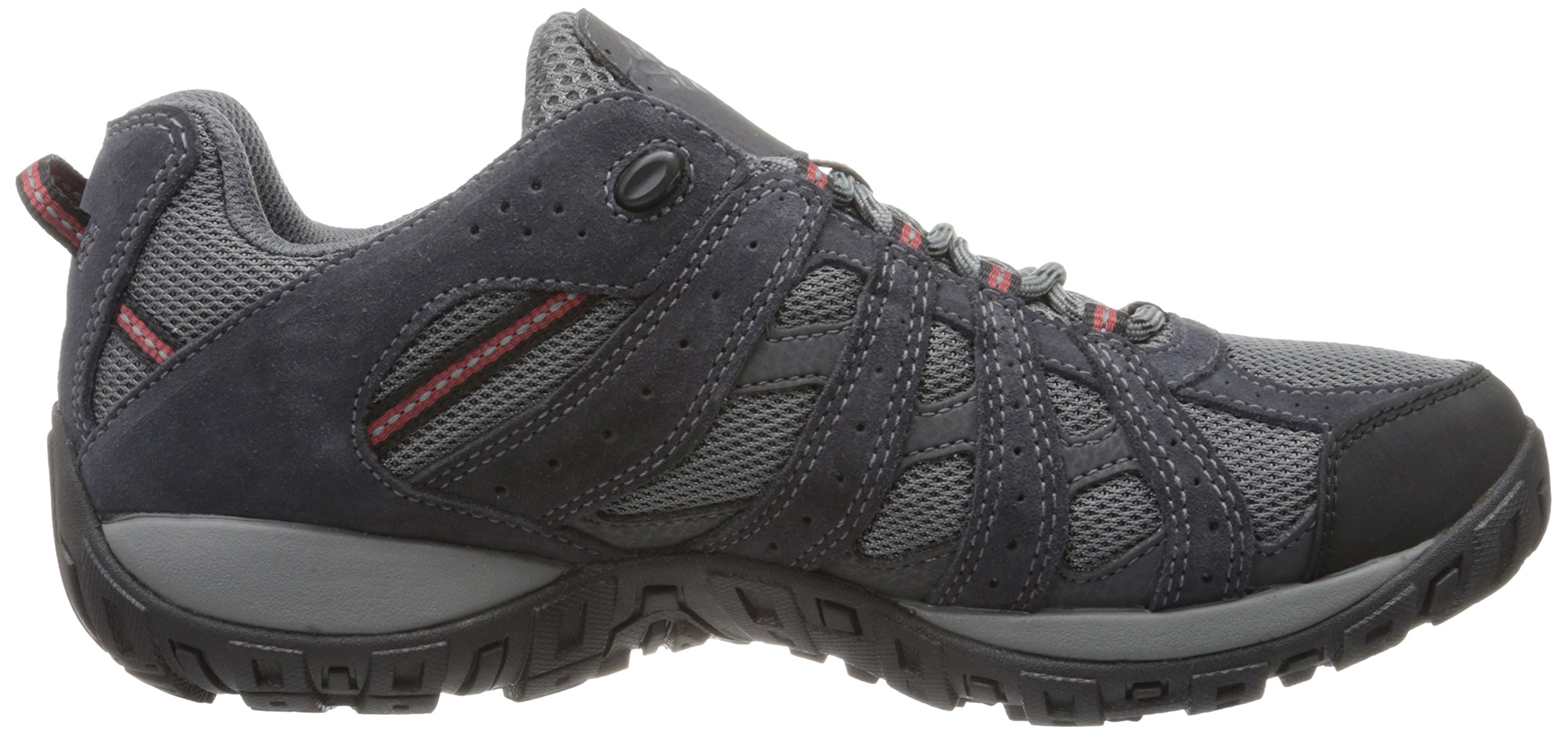 Columbia Men's Redmond Waterproof, Charcoal/Garnet Red 7 M US by Columbia (Image #7)