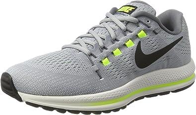 Nike Air Zoom Vomero 12, Zapatillas de Running para Hombre, Gris (Wolf Grey/Black/Cool Grey/Pure Platinum 002), 38.5 EU: Amazon.es: Zapatos y complementos