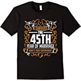 45th Wedding Anniversary Gifts 45th Year T Shirt For Her & H