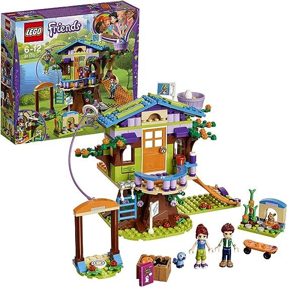 LEGO Friends - Casa en el Árbol de Mia, Juguete de Construcción con Mini Muñecas, Monopatín para Niñas y Niños de 6 a 12 Años (41335)
